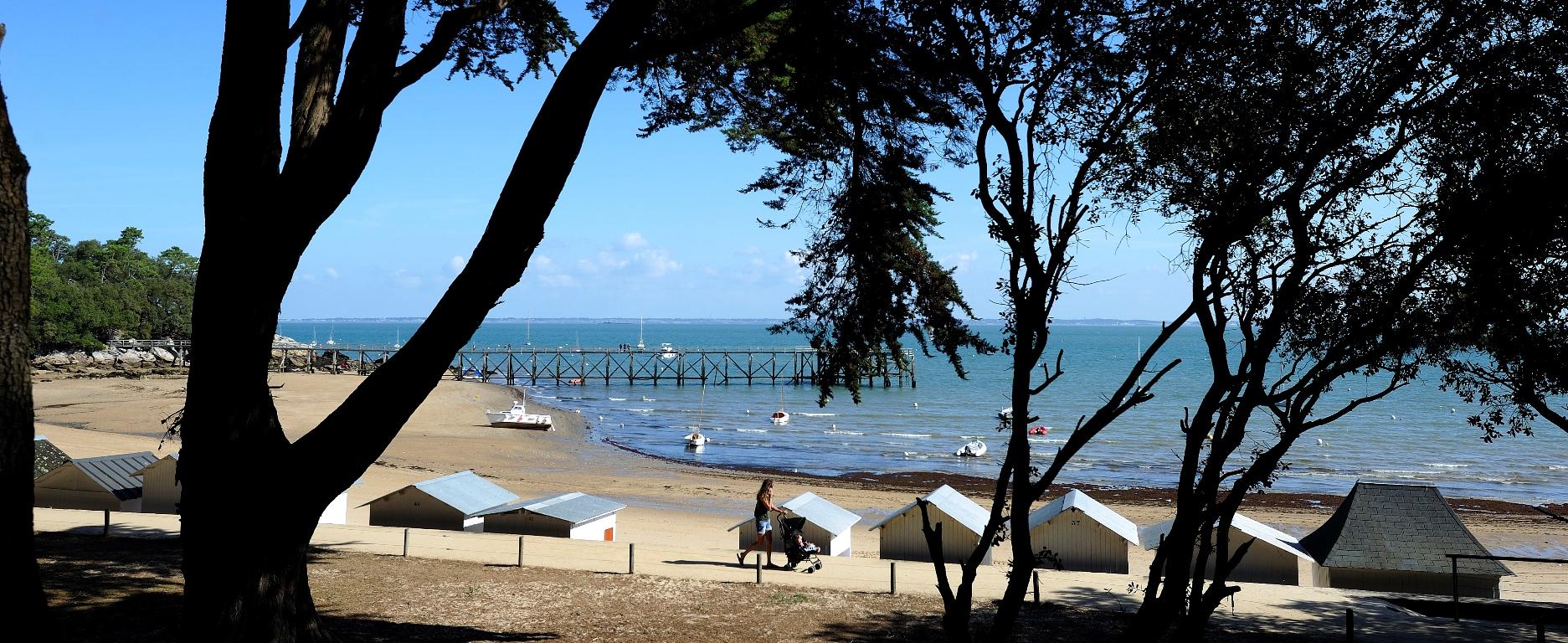 Plage et piscine en Vendée