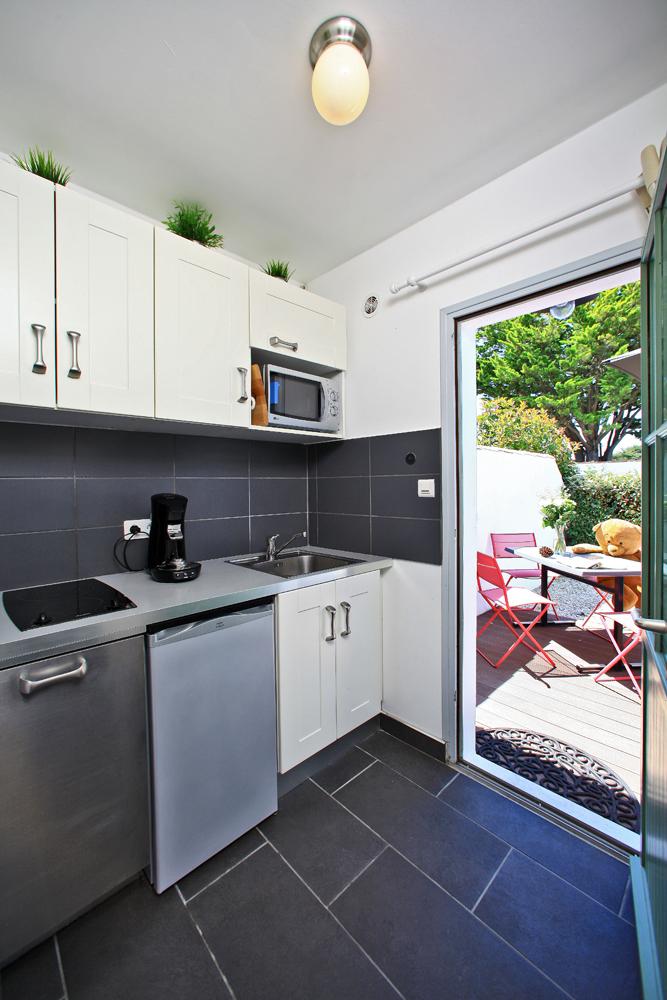 cuisine équipé lave vaisselle location noirmoutier
