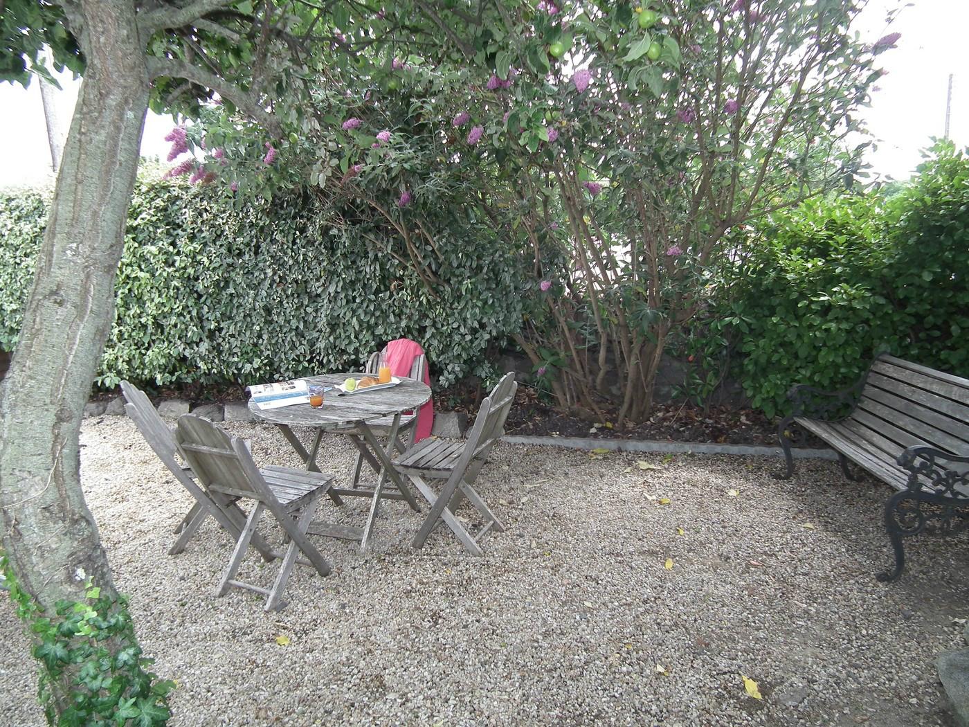 jardin location vendée gite noirmoutier piscine