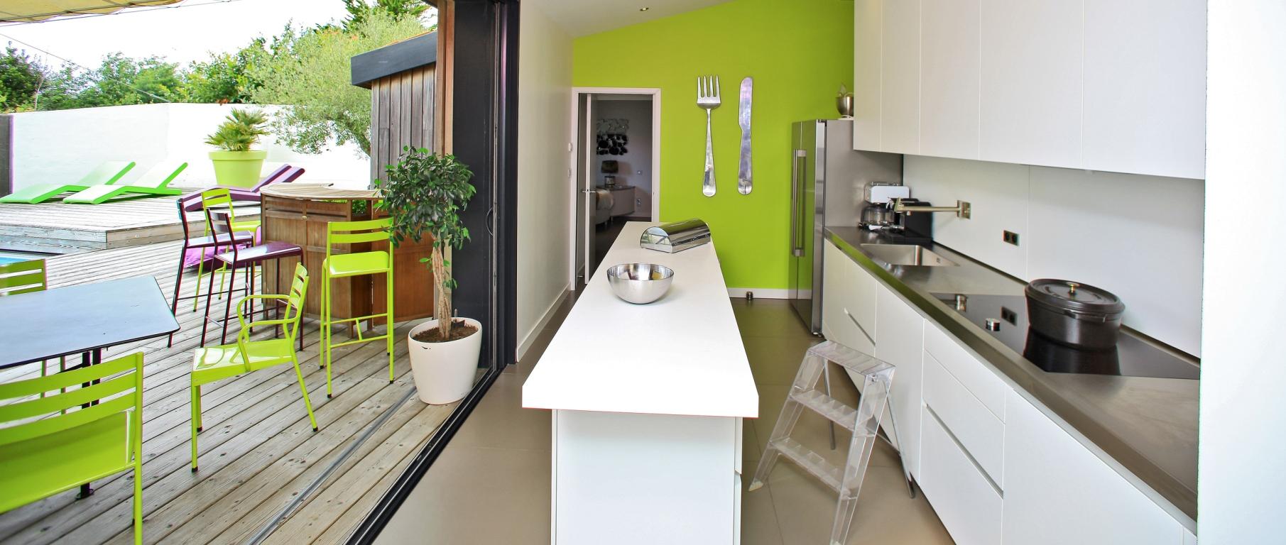 cuisine bulthaup location maison luxe noirmoutier côte atlantique