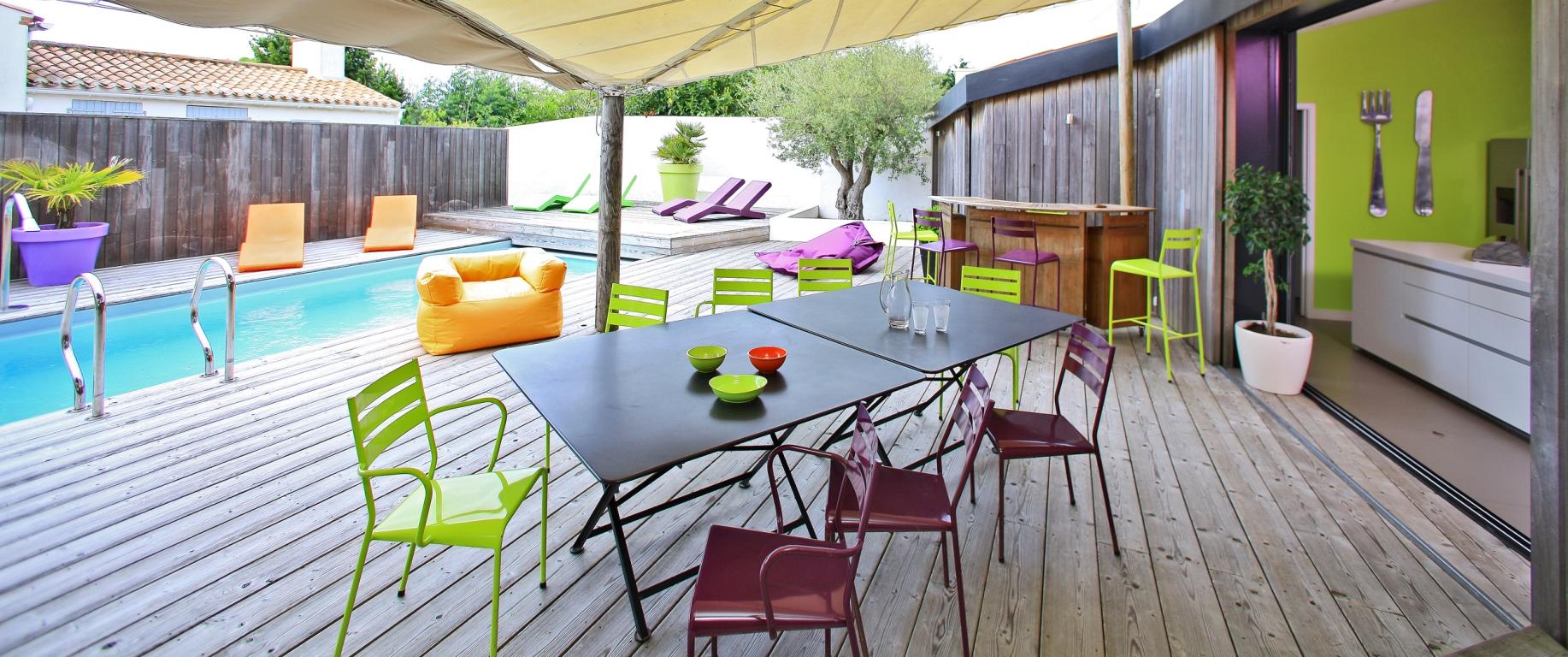 terrasse piscine chauffée magnapool