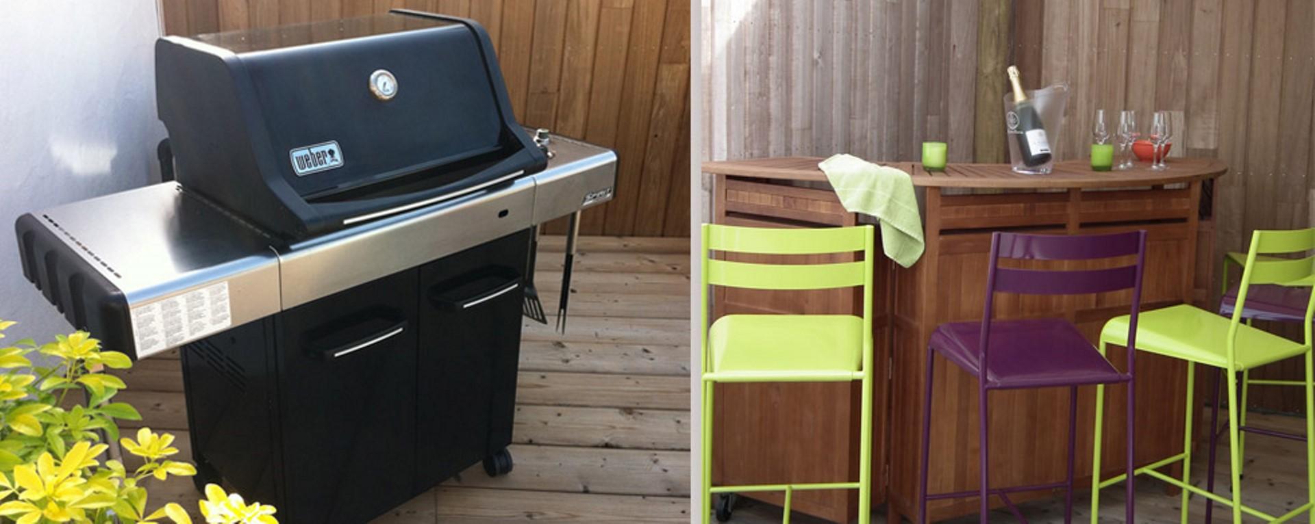 barbecue, bar terrasse, villa La Chaize