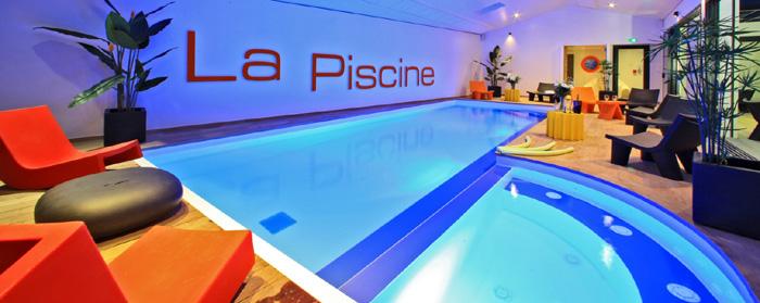 La piscine intérieure chauffée de la résidence